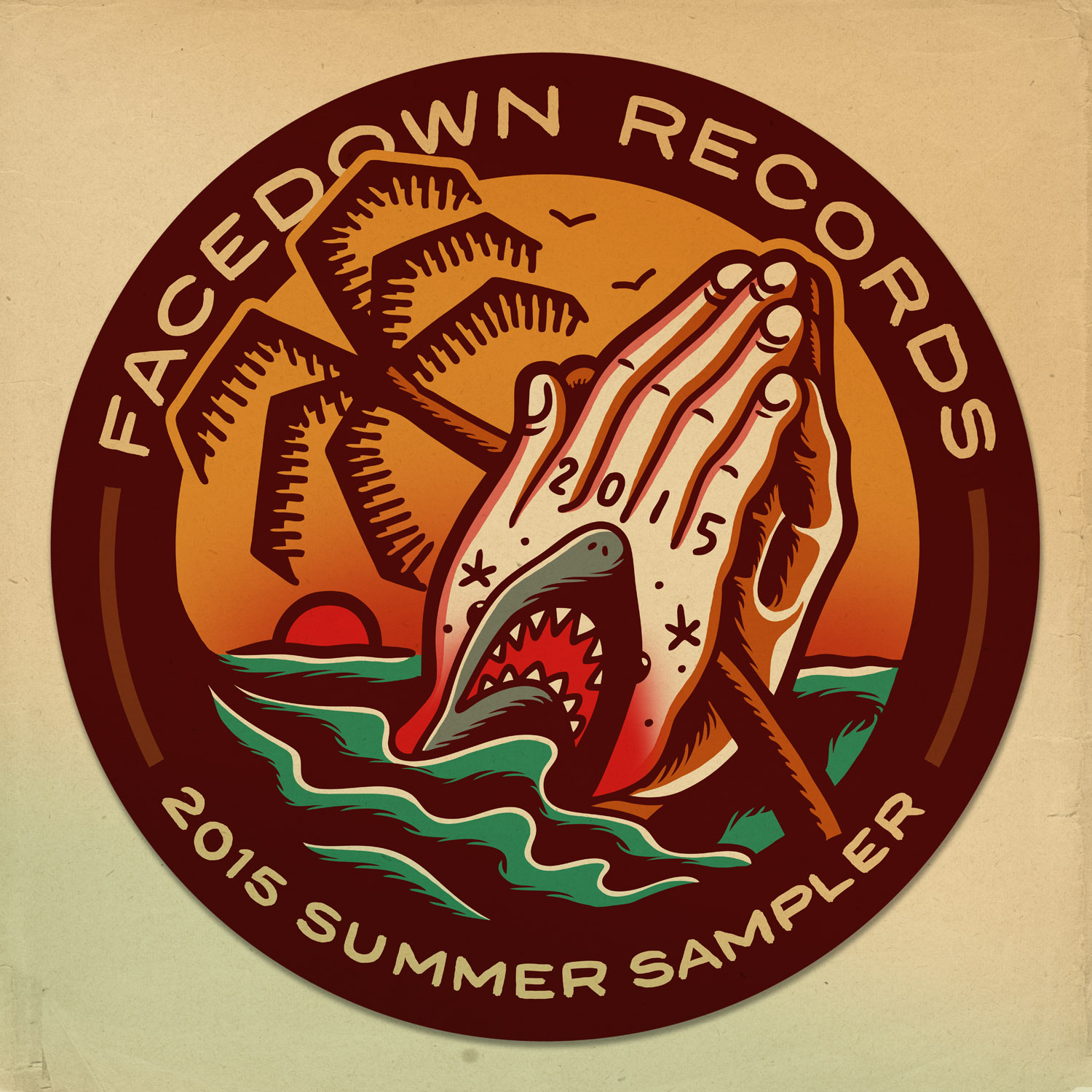 facedownrecords_summersampler2014_cover